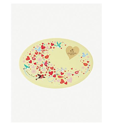 GODIVA Valentine's chocolate truffles box of six