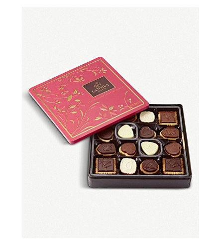 GODIVA Prestige chocolate biscuit assortment box of 46