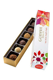 GODIVA Very Berry six-piece truffle box