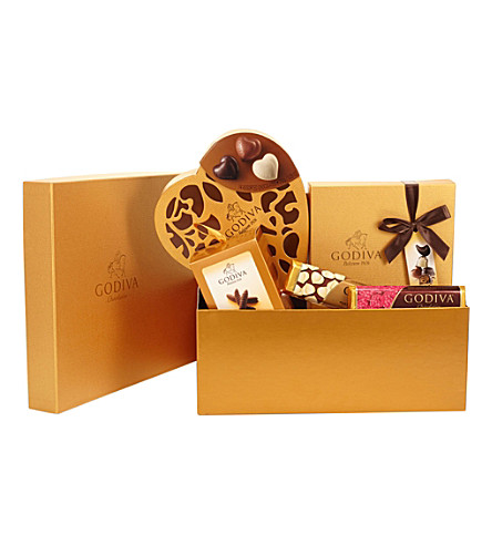 GODIVA Hamper for Her chocolate selection