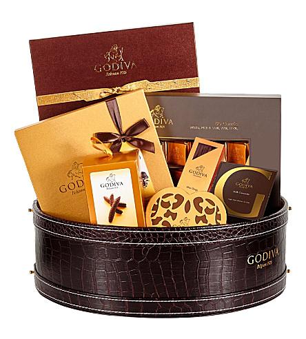 GODIVA Signature Hamper chocolate selection