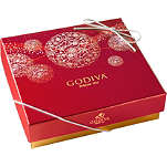 GODIVA Christmas 10-piece chocolate gift box