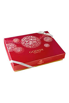GODIVA Christmas 17-piece chocolate gift box
