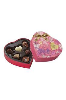 GODIVA Valentine Heart six-piece chocolate box