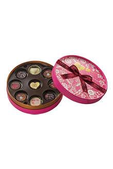 GODIVA Romantic nine-piece chocolate box