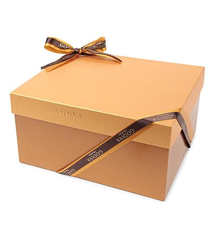 GODIVA Signature Gold 150-piece chocolate gift box