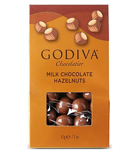 GODIVA Milk chocolate hazelnuts