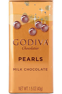 GODIVA Pearls milk chocolate 43g