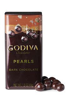 GODIVA Dark chocolate pearls 43g