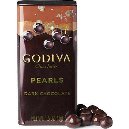 GODIVA Dark chocolate pearls 43g