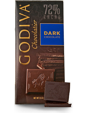 GODIVA 72% Dark Chocolate Tablet