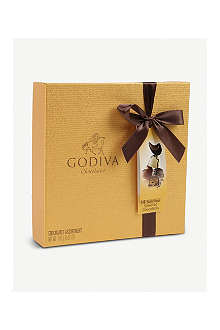 GODIVA Gold Ballotin 14-piece assorted chocolates box 165g