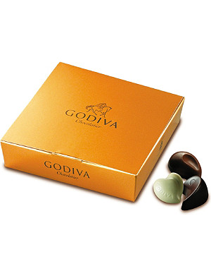 GODIVA Ballotin Gold 10-piece chocolate box