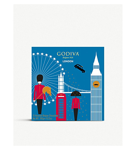 GODIVA London Souvenir box 180g