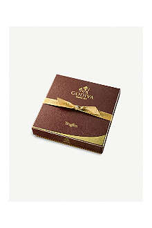 GODIVA Truffe Signature nine-piece chocolate truffle box
