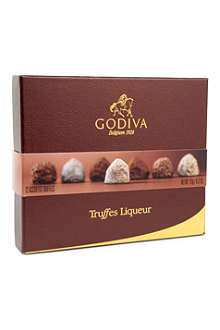 GODIVA Box of 12 Truffes Liqueur chocolates