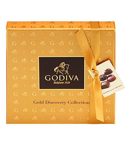 GODIVA Gold Discovery assorted chocolate gift box 9pc