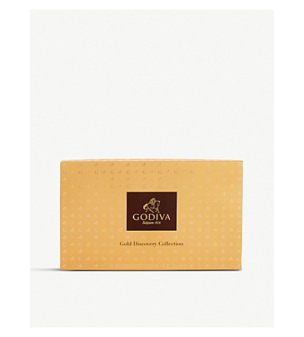 GODIVA Gold Discovery 28-piece gift box