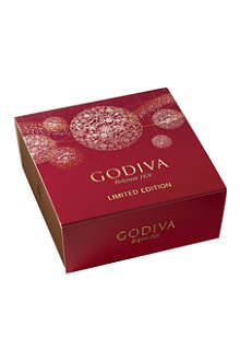 GODIVA Christmas four-piece gift box