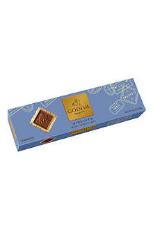 GODIVA Signature milk chocolate biscuits 100g