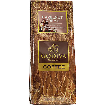 GODIVA Hazelnut Cream ground coffee