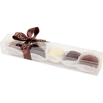 GODIVA Five-piece assorted chocolate box