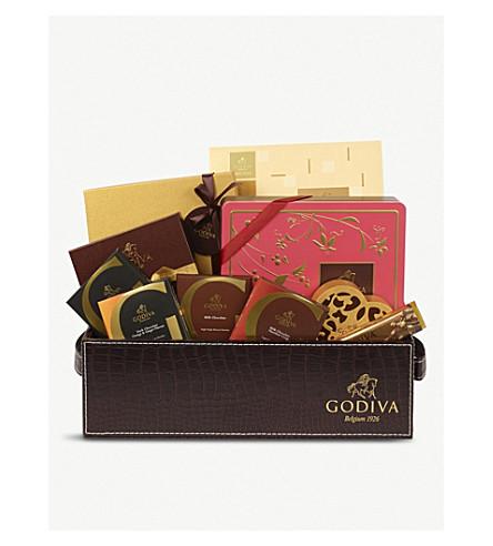GODIVA Luxury chocolate hamper