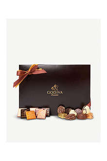 GODIVA Royal suede box of assorted chocolates 568g