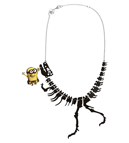 TATTY DEVINE Minions dinosaur necklace