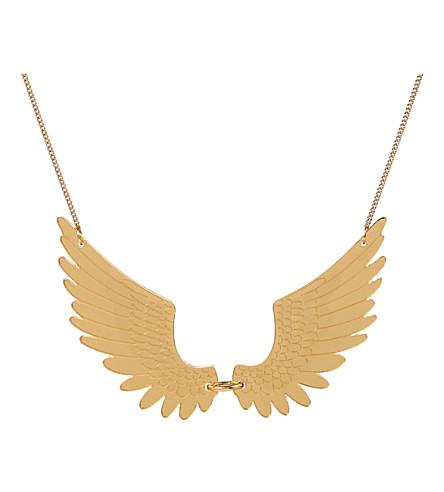 TATTY DEVINE Pegasus large necklace (Gold mirror
