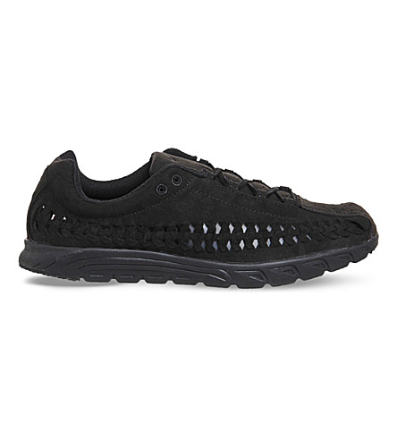 NIKE Mayfly woven trainers (Black+black