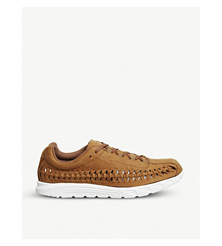 NIKE Mayfly woven suede trainers (Ale+brown+sail