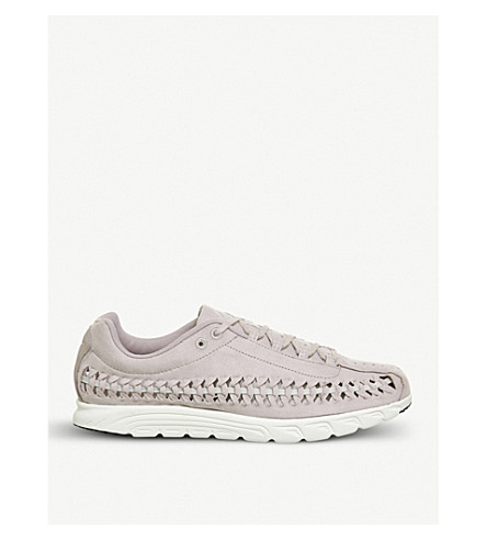 NIKE Mayfly woven suede trainers (Particle+rose