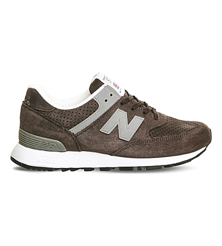 NEW BALANCE 576 suede sneakers (Grey silver