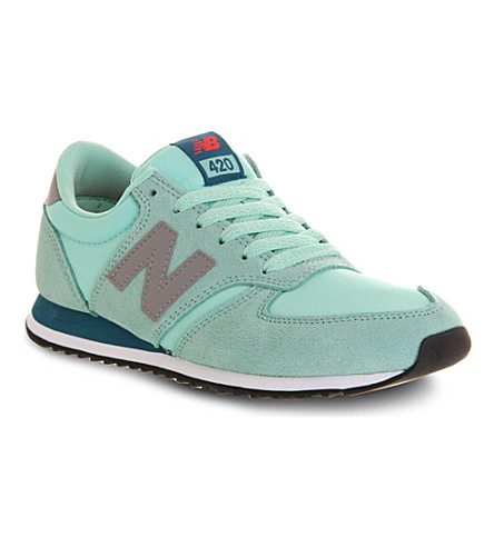 NEW BALANCE 420 trainers (Aqua  blue