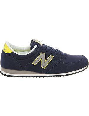 NEW BALANCE 420 suede trainers