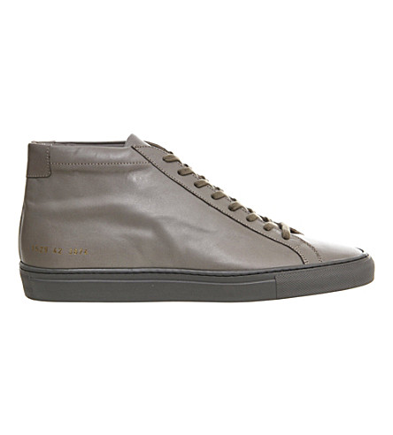COMMON PROJECTS Common projects achillies mid (Mid+grey