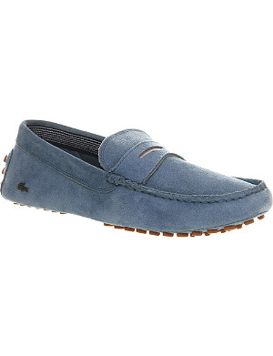LACOSTE Concours driving moccasins