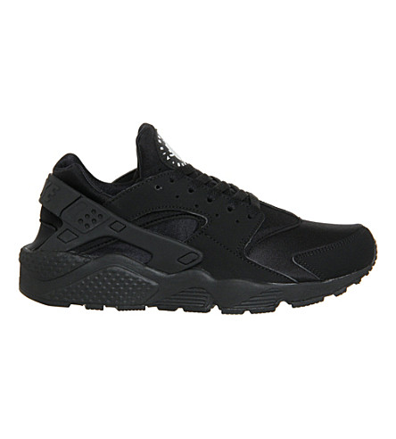 NIKE Air huarache sneakers (Black+mono