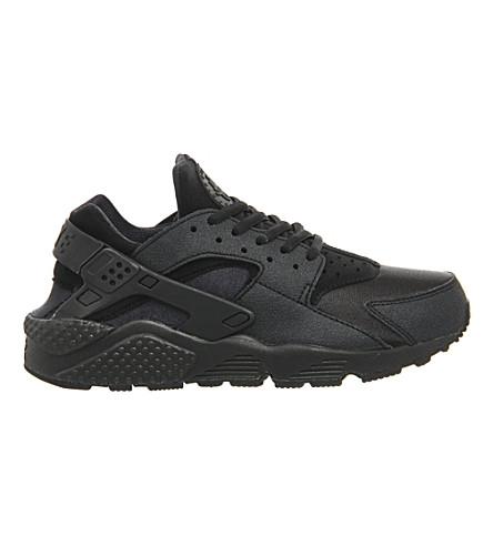 NIKE Air huarache trainers (Black black