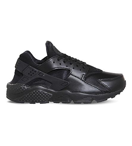 NIKE Air huarache run ultra mesh trainers (Black