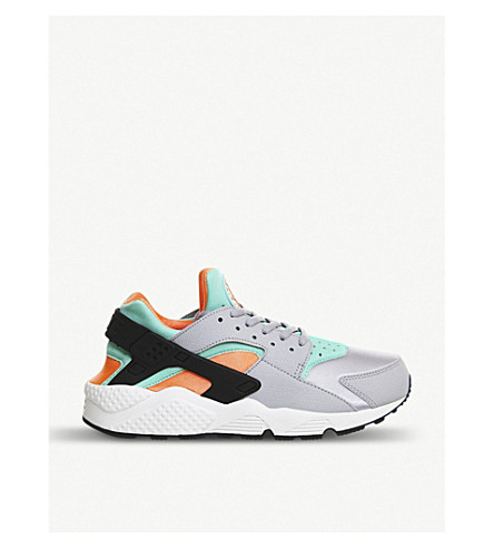 NIKE Air huarache trainers (Wolf grey orange