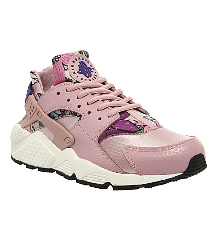 NIKE Air Huarache Aloha leather trainers (Aloha pink