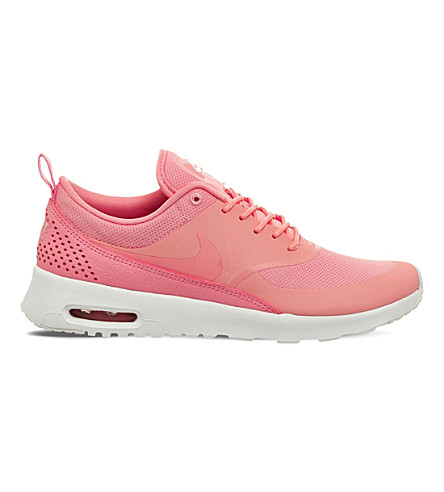 NIKE Air Max Thea leather and mesh trainers