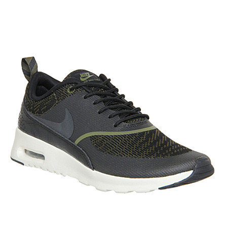 NIKE Air Max Thea trainers (Faded olive jacquard