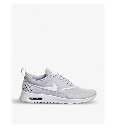 ... NIKE Air Max Thea trainers (Pure+platinum+white. PreviousNext
