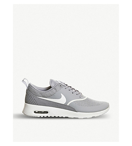 NIKE Air max thea trainers (Matte silver grey