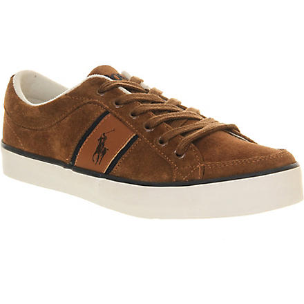 RALPH LAUREN Bollingbrook 2 trainers (Brown