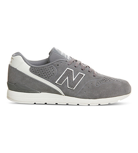 NEW BALANCE MRL996 suede trainers (Grey+white