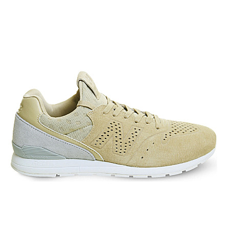 NEW BALANCE MRL996 suede trainers (Beige